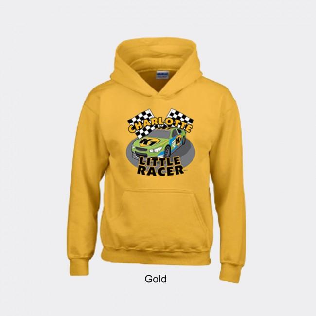 Gildan Youth Heavyweight Blend Hooded Sweater - Charlotte Little Racer