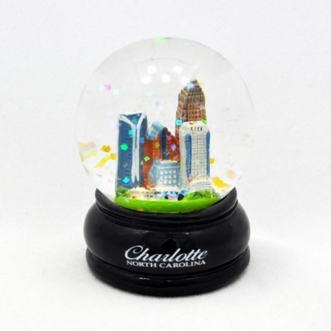 Small Charlotte Executive Snow Globe (45 mm)