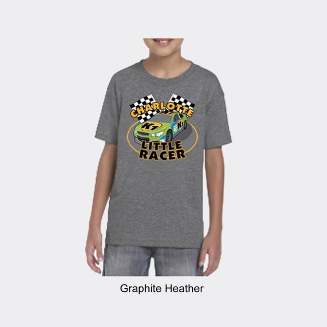 Gildan Youth Dryblend Tee Shirt - Charlotte Little Racer